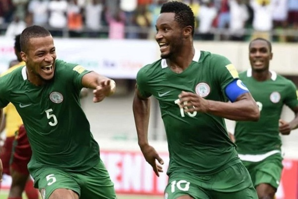 Nigeria qualify for 2018 football world cup