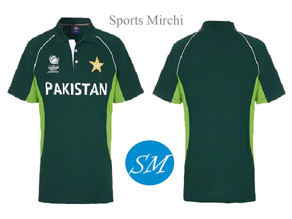 Pakistan cricket team jersey for icc champions trophy 2017