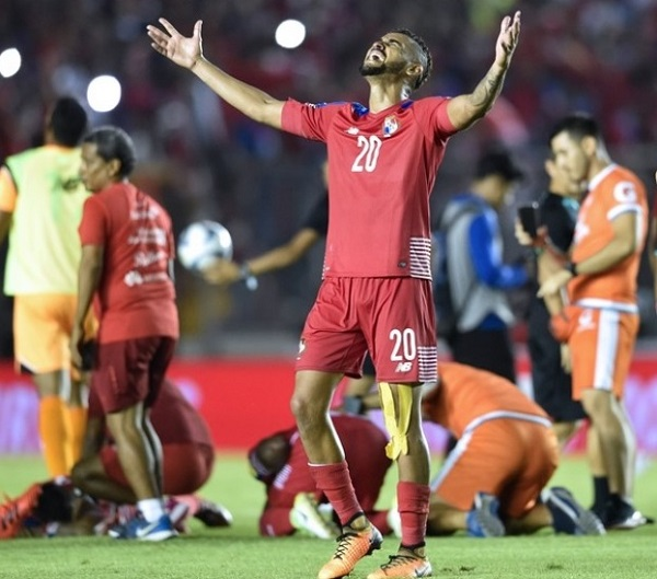 Panama qualify for FIFA 2018 world cup