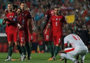 Portugal reaches to World Cup 2018 Russia
