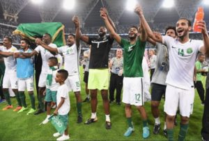 Saudi Arabia qualify for 2018 FIFA World Cup