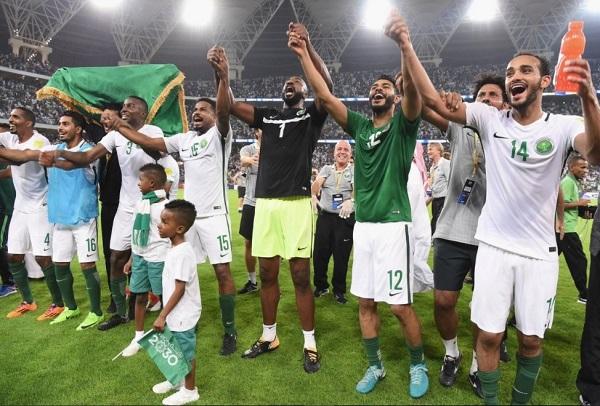 Saudi Arabia qualify for 2018 FIFA World Cup