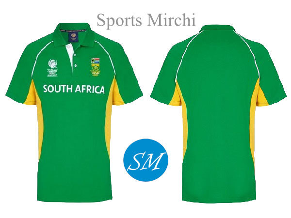 South Africa cricket team jersey for 2017 champions trophy