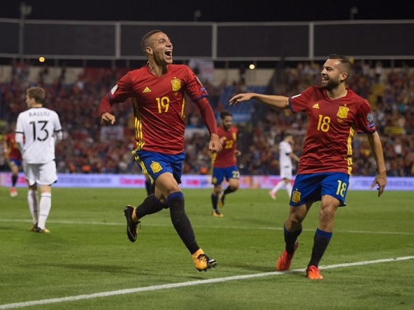 Spain qualify for FIFA world cup 2018