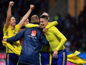 Sweden qualify for 2018 FIFA World Cup