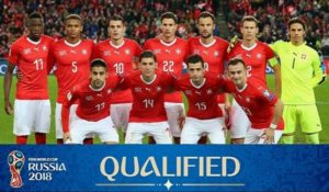 Switzerland qualify for FIFA world cup 2018