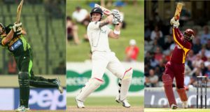 Most sixes in international cricket (T20, ODI, Tests)