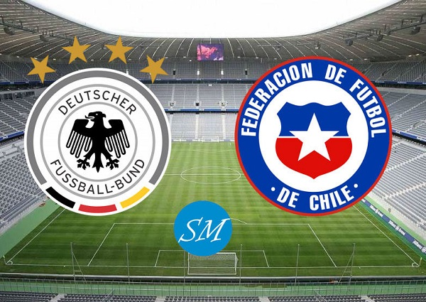 Germany vs Chile Head to Head.