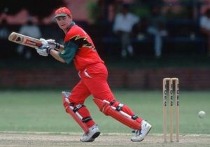 Alistair Campbell scored first century of ICC Champions Trophy in 1998 against New Zealand