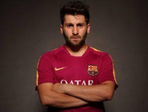 Reza Parastesh looks like footballer Lionel Messi