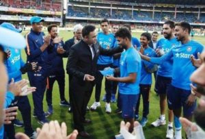 Rishabh Pant made India debut against England in T20s