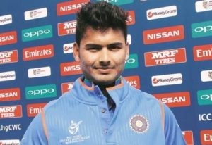 Rishabh Pant scored fastest under-19 fifty against Nepal