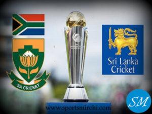 Sri Lanka vs South Africa 2017 ICC Champions Trophy Match-3