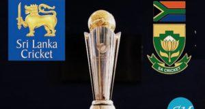 SL vs SA Live Score 3rd Match ICC Champions Trophy 2017