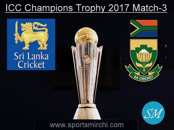 Sri Lanka vs South Africa match-3 live score 2017 ICC Champions Trophy