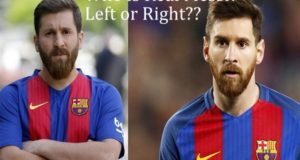 Left or Right? Who is real Lionel Messi?