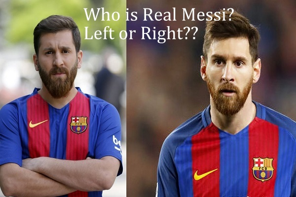 Who is Real Messi: Left or Right??