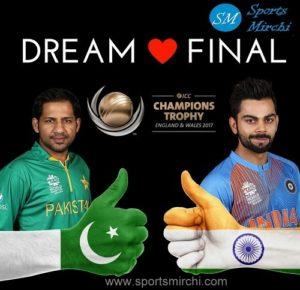ICC champions trophy 2017 final IND vs PAK