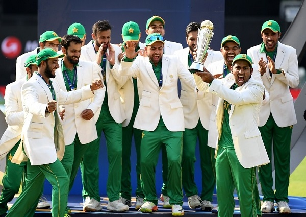 Pakistan beat India to win ICC Champions Trophy 2017