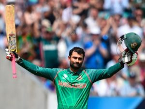 Tamim Iqbal scored first century of ICC Champions Trophy 2017