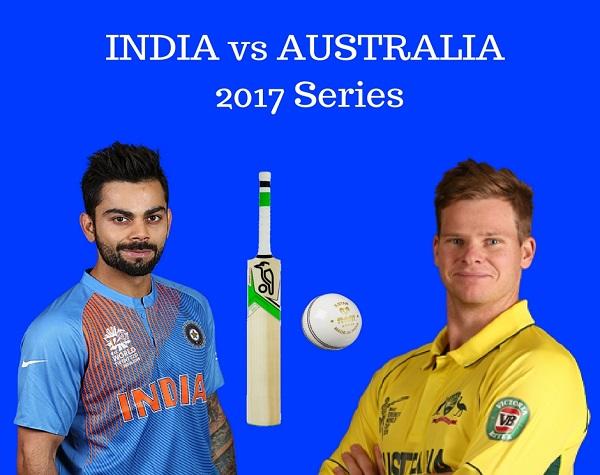 India vs Australia 2017 ODIs & T20Is Series Schedule