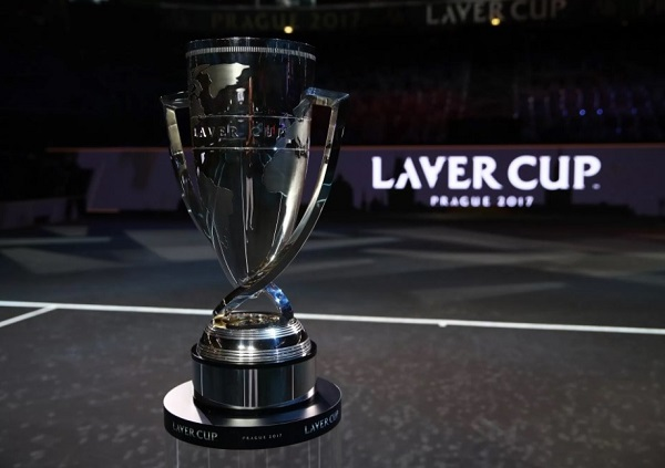 Laver Cup tennis tournament trophy