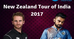 India vs New Zealand 2017 Series Full Schedule