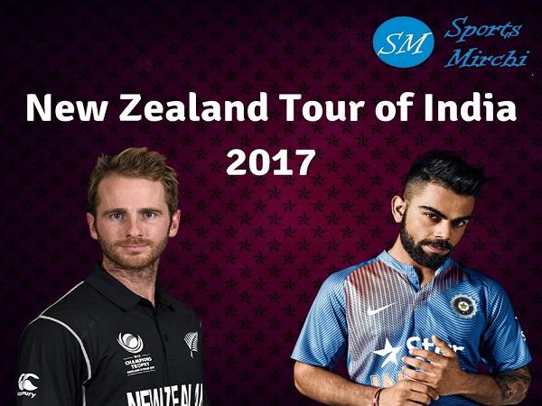 New Zealand tour of India 2017