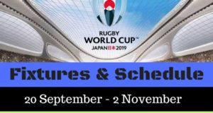 Rugby World Cup 2019 Schedule, Match-Timings
