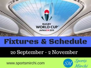 2019 Rugby World Cup Schedule Time-Table