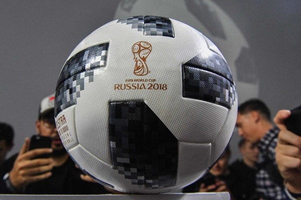 Adidas Telstar18 ball for world cup 2018