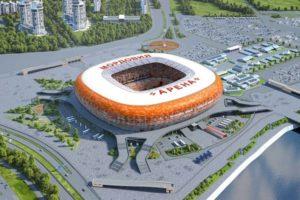 Mordovia Arena for 2018 FIFA world cup Russia