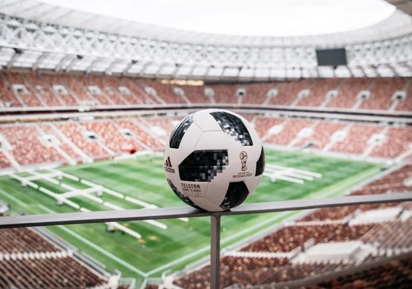 Official match ball for 2018 FIFA world cup