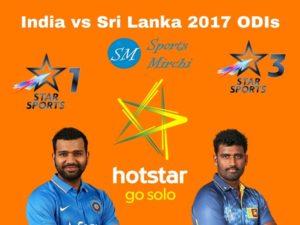 India vs Sri Lanka 2017 ODI Live Streaming, Telecast