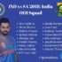 India's ODI squad announced for South Africa 2018 Tour