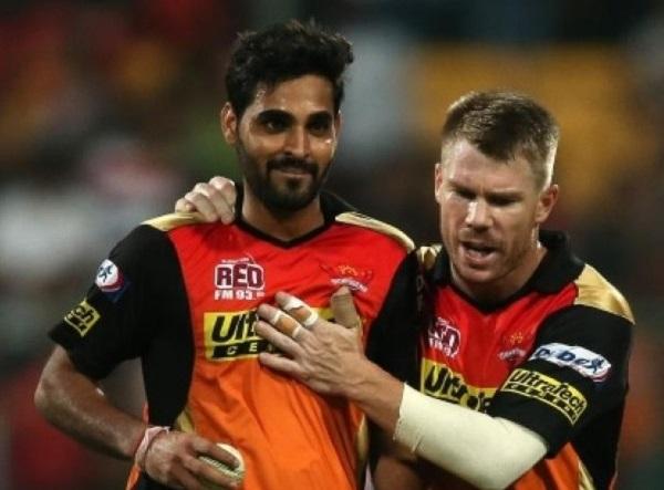 SRH to retain Warner, Dhawan and Bhuvneshwar for IPL 2018