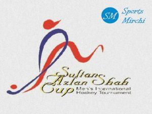 Sultan Azlan Shah Cup schedule