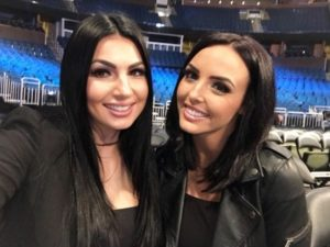 Billie Kay, Peyton Royce wrestlers together photo