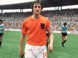 Johan Cruyff didn't FIFA world cup trophy ever for Netherlands