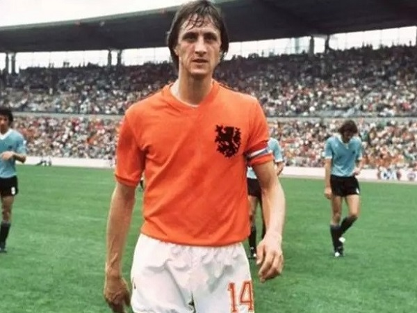 Johan Cruyff didn't FIFA world cup trophy ever for Netherlands