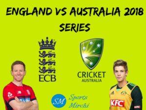 Australia tour of England 2018