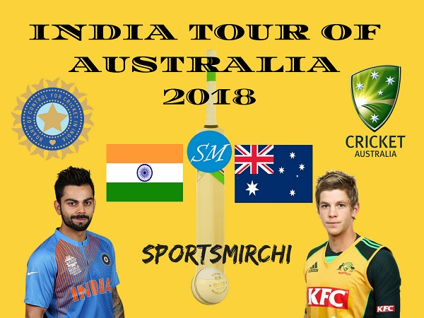 Australia vs India 2018-19 Series Schedule