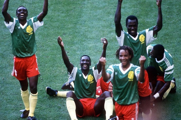 Cameroon beat Argentina in 1990 FIFA world cup group match