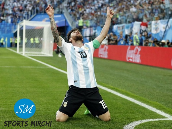 Lionel Messi scores 100th Goal of FIFA World Cup 2018
