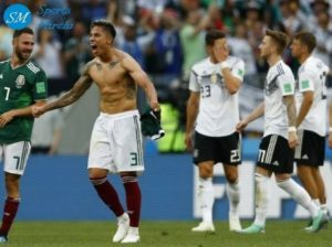 Mexico beat Germany in 2018 world cup group match