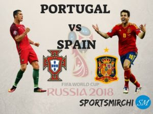 Portugal vs Spain 2018 FIFA World Cup Match