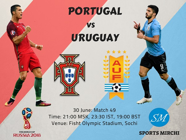 Portugal vs Uruguay 2018 world cup round of 16 match