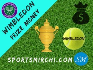 Prize Money for Wimbledon Tennis Championships