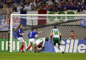 Senegal beat France in 2002 world cup first match