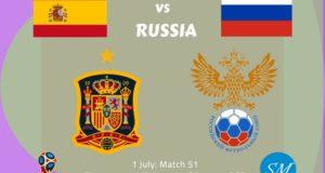 Spain vs Russia TV Channels, Live Stream 2018 FIFA World Cup